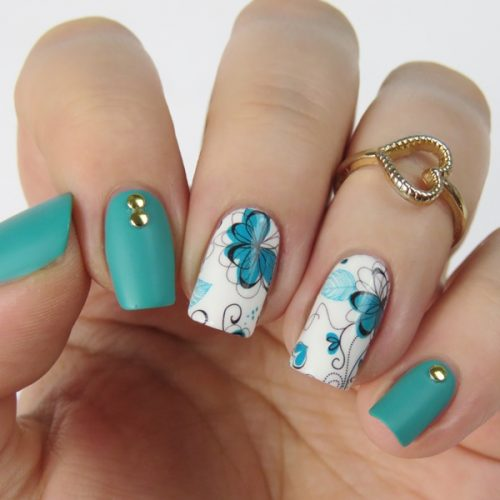 Bornpretty Water Decals: Bornprettystore Chic Flower Nail Art Water Decals