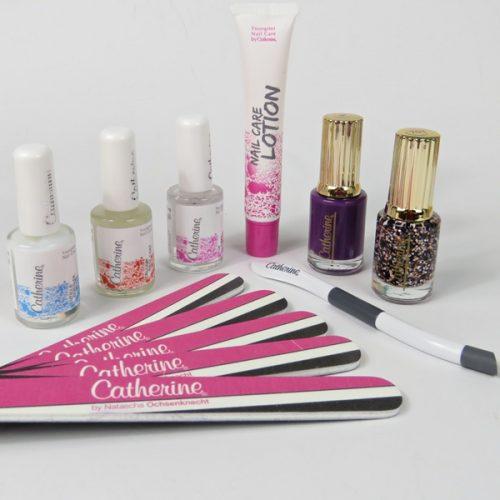 Inhalt der PAART Box für die Manicure Party: Catherine Nail Box