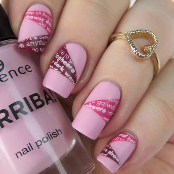 Stamping Decals Naildesign Over Essence Hola Guapa Nisinails