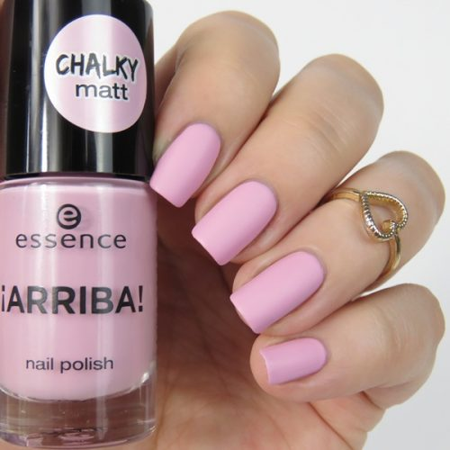 essence arriba Trend Edition 01 hola guapa - rosa Nagellack von essence