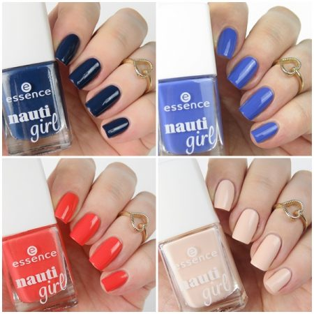 essence nauti girl trend edition nail polish swatches