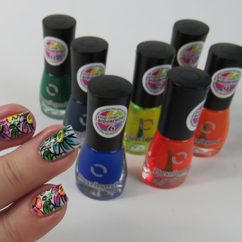 Dance Legend Top Coat Aquarelle for Nail Art