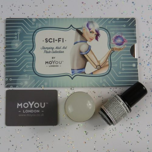 Stamping Tools von Moyou London: Sci-Fi Collection 01