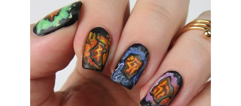 Diablo-3-Nageldesign