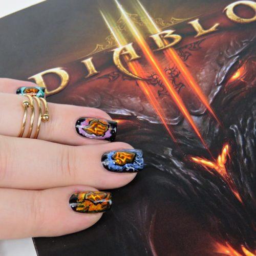 Diablo III Runen Nageldesign: Diablo 3 Klassenrunen