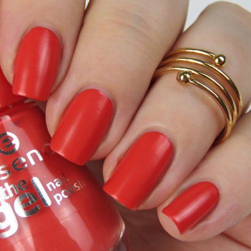 semi-matter Nagellack im Standardsortiment: essence the gel nail polish 47 va-va-voom
