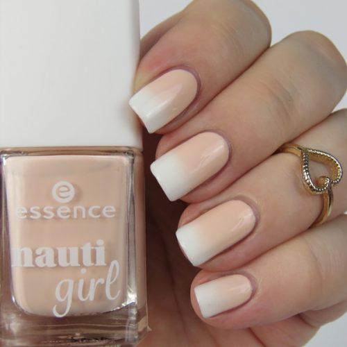 Gradient Nails: Einfaches Nageldesign im dezenten und natürlichen Babyboomer Nails Look und mit Schwämmchen als Farbverlauf getupft
