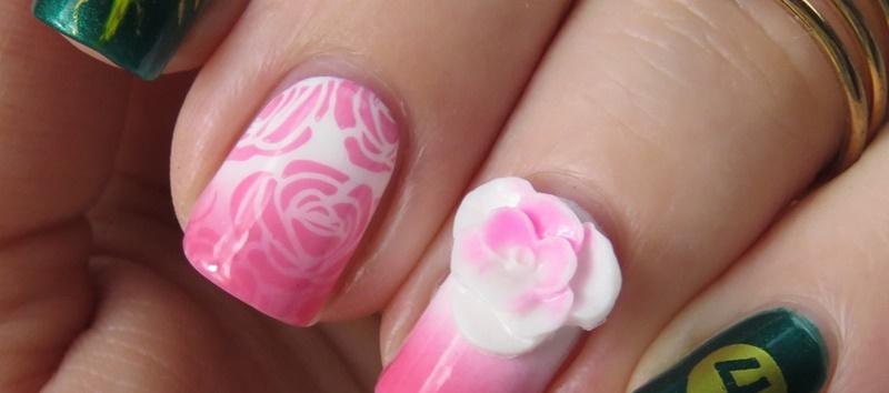 Sailor Jupiter Nails