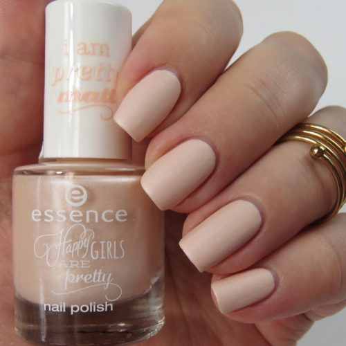 essence happy girls are pretty Trend Edition: Matter Nagellack enjoy the little things