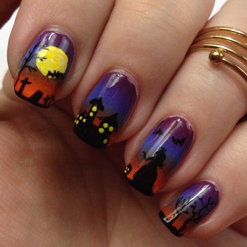 Halloween Nails 2015: Halloween Nail Art. My Nail Ideas for Halloween