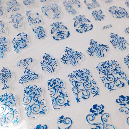 Bornprettystore 3D Nail Art Sticker