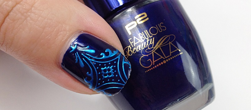 Blue Nail Sticker bornprettystore Review