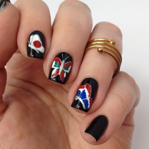 #prayforparis Nails Nail Art #prayfortheworld
