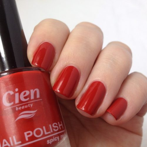 Lidl Nail Polish 5 Spicy Red