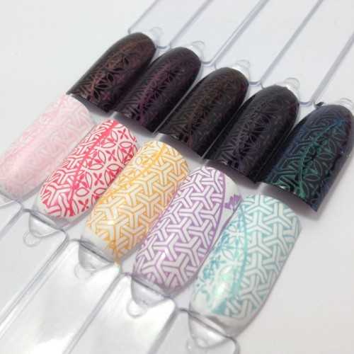 trend it up Magical Illusion Nagellack Stamping Test