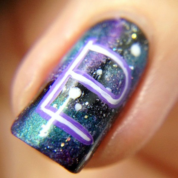Sailor Pluto Sign Nail Art