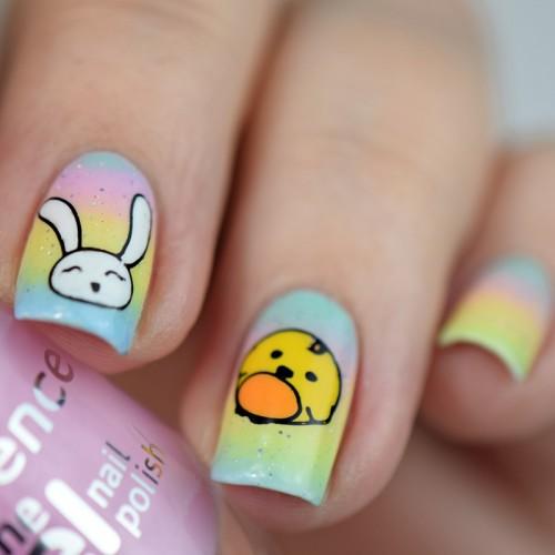 Nageldesign zu Ostern selber machen