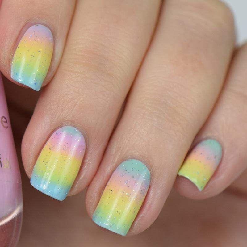Pastel Gradient Nails No Ombre Nails Nisinails