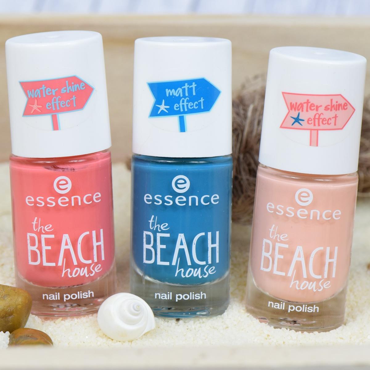 essence the beach house nail polishes