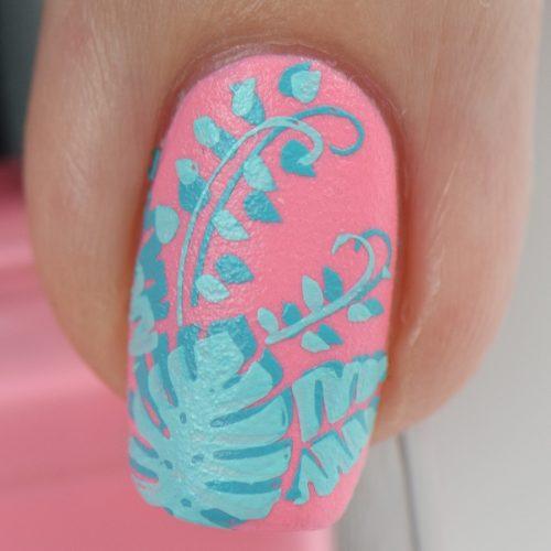 Summer Naildesign Hawaii Nails