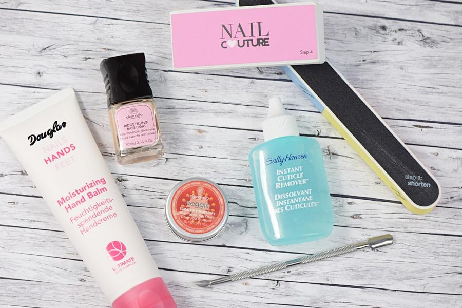 Produkte zur Handpflege und Nagelpflege