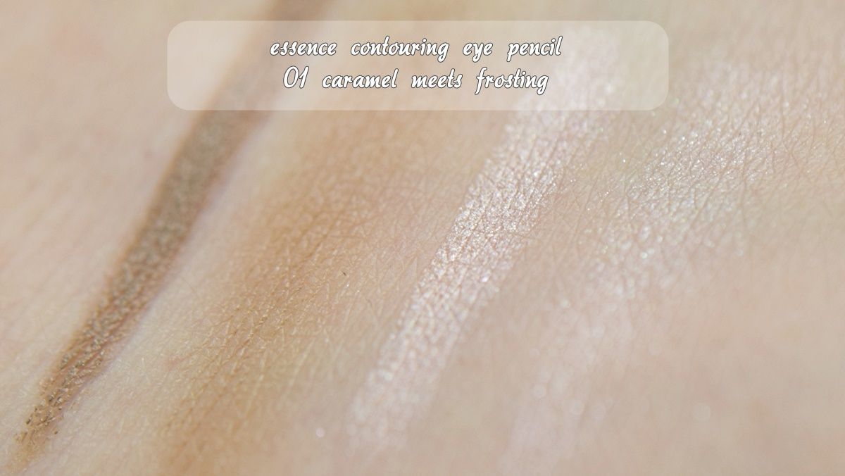 essence contouring eye pencil 01 caramel meets frosting Swatches