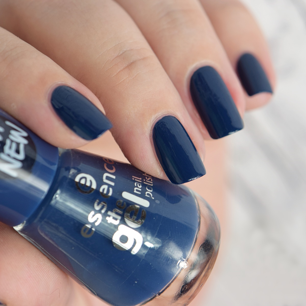 essence the gel nail polish 78 royal blue Swatches