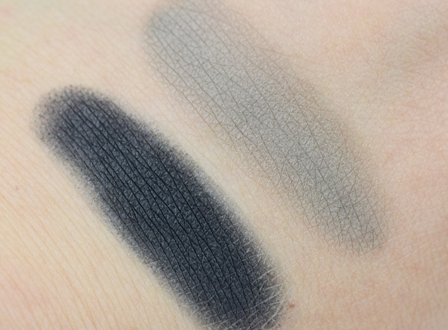 Catrice Retrospective Wet & Dry Shadow C02 Blue Flashback & C03 Nostalgic Grey Swatches
