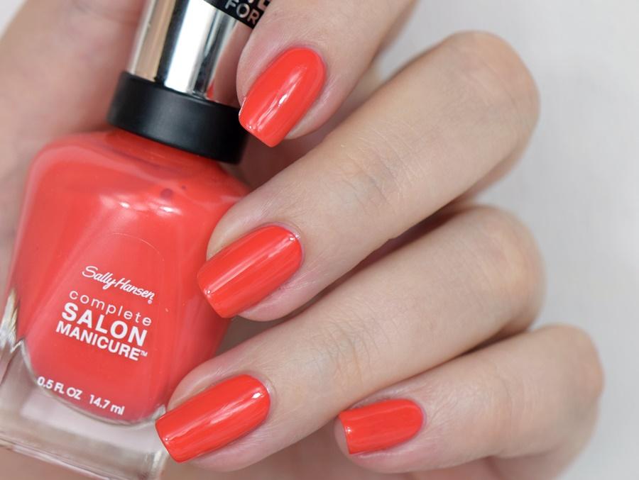 Sally Hansen Complete Salon Manicure 560 Kook A Mango