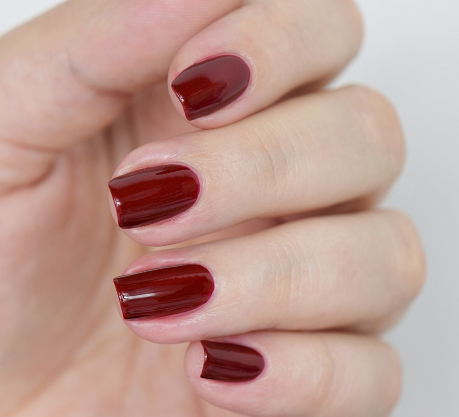 Sally Hansen Complete Salon Manicure 610 Red Zin Swatches