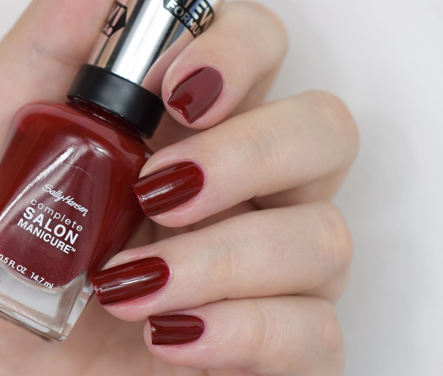Sally Hansen Complete Salon Manicure 610 Red Zin