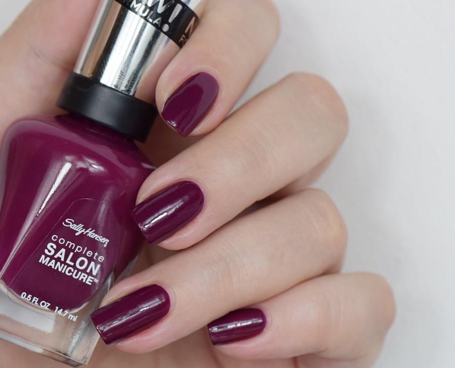 Sally Hansen Complete Salon Manicure 639 Scarlet Fever mit Keratin Komplex