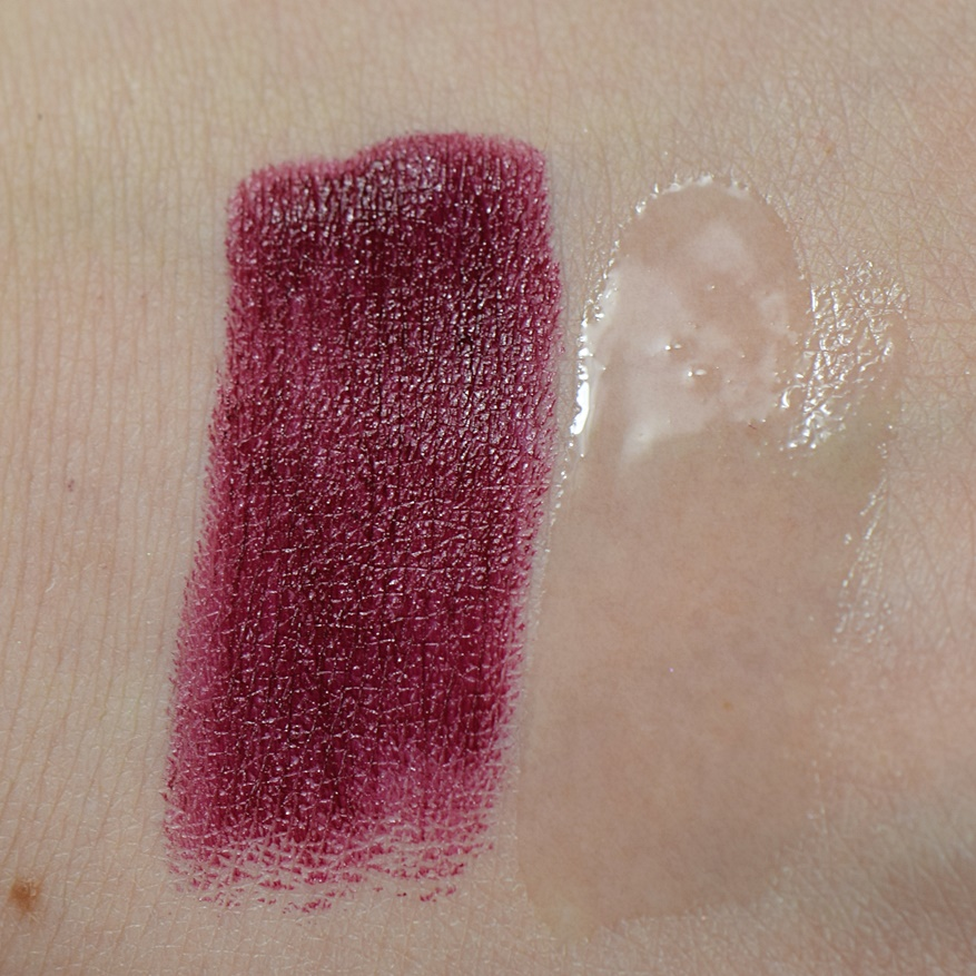 essence me & my umbrella matt lipstick 01 crazy autumn love Swatches