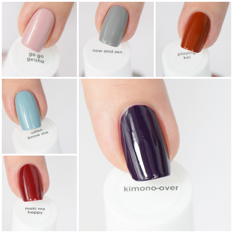 essie kimono over Herbst Limited Edition 2016 Swatches und Review