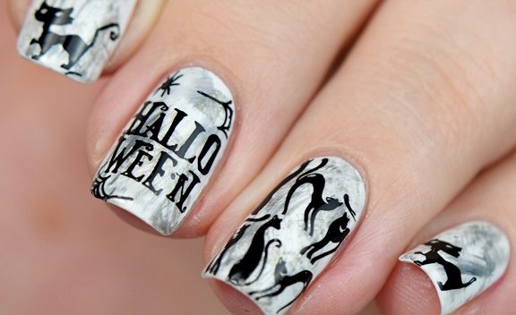 Nagellack Blog nisinails.de: Halloween Nägel selber machen Anleitung