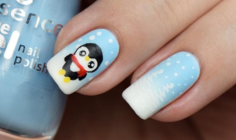kawaii-pinguin-nails-winter-nails-christmas-nails-nisinails
