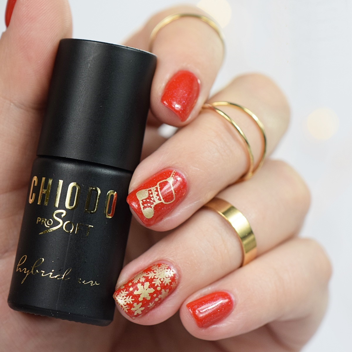 Chiodo Pro Soft 164 Shiny Red Gel Nagellack