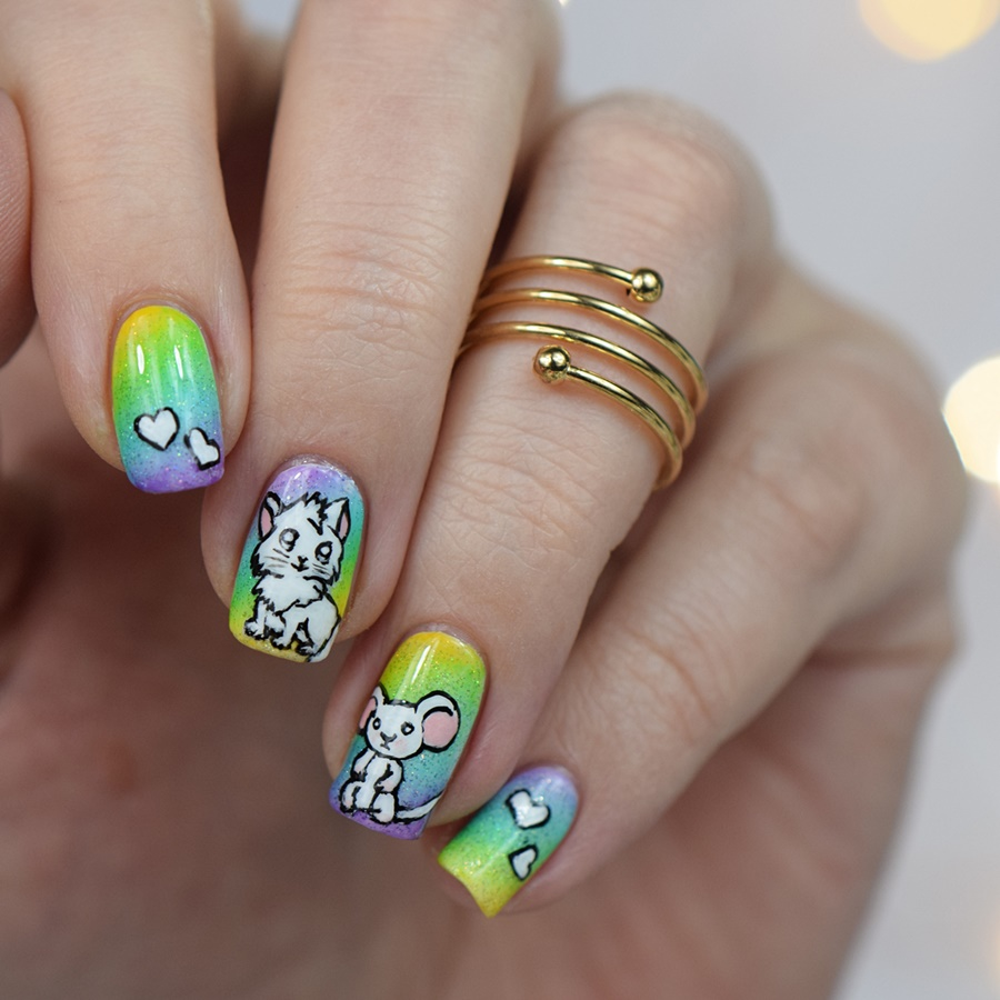 narmai piggieluv nail art recreated Nageldesign selber machen für Anfänger