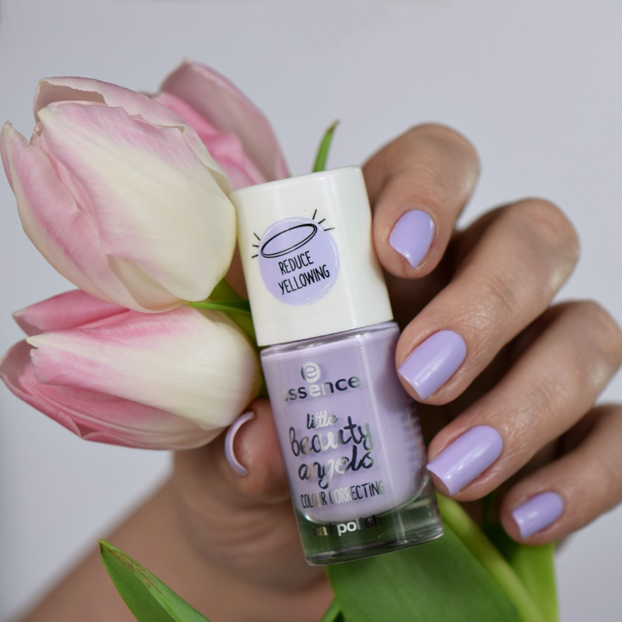 essence little beauty angels 03 care & dare lilly! nagellack Swatch