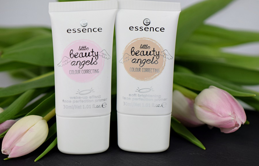 essence little beauty angels colour correcting face perfection primer